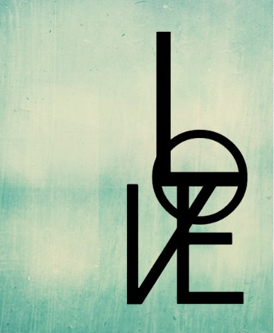 Design #48569 (Love) Canvas Print 11x14