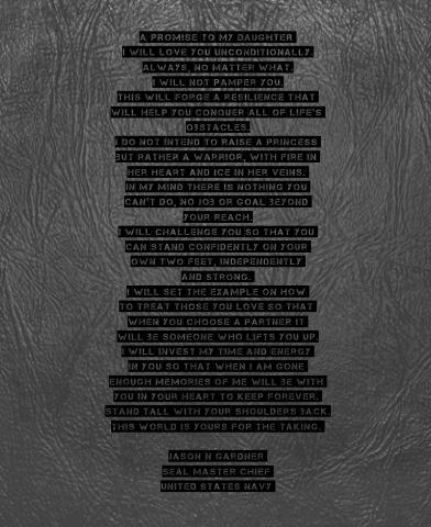 A Promise Canvas Print 24x30