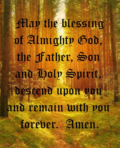 Blessing2  24 x 30 Custom Canvas Print XPress