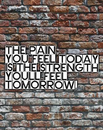 Strength Tomorrow Canvas Print 16x20