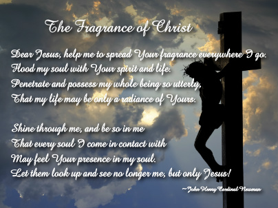 Fragrance of Christ Canvas Print 16x12