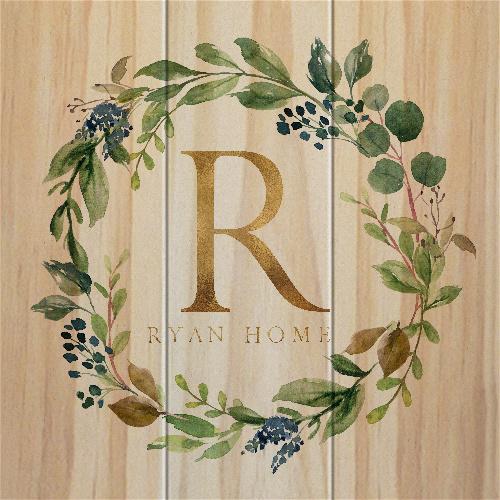 Ryan Home wood - final MakeCanvasPrints Canvas Print