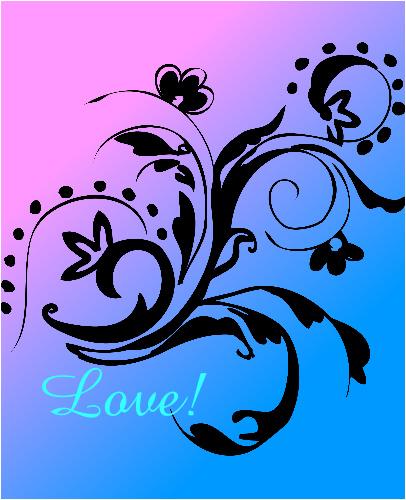 Love!  24 x 30 Custom Canvas Print XPress